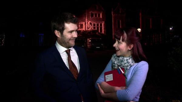 Rhod Gilbert and Samantha Imbimbo reflect on the day.